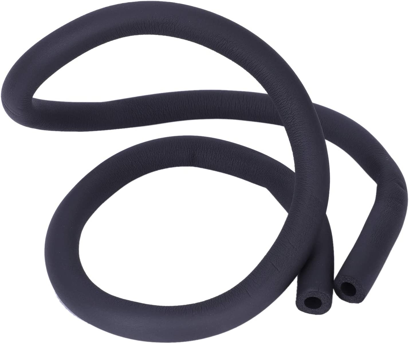 color negro Tubo de aislamiento t/érmico para aire acondicionado BKAUK 1,7 m, 10 mm x 9 mm