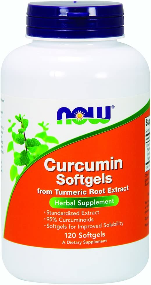 NOW Supplements, Curcumin (Curcuma longa) from Turmeric Root Extract, Herbal Supplement, 120 Softgels: Health & Personal Care