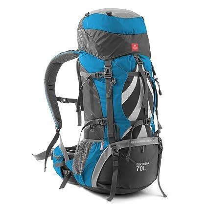 mochilas montaña Mochila al aire libre Sports Mountaineering Bolso Caminar Senderismo Mochila Wild Camping Gran Capacidad