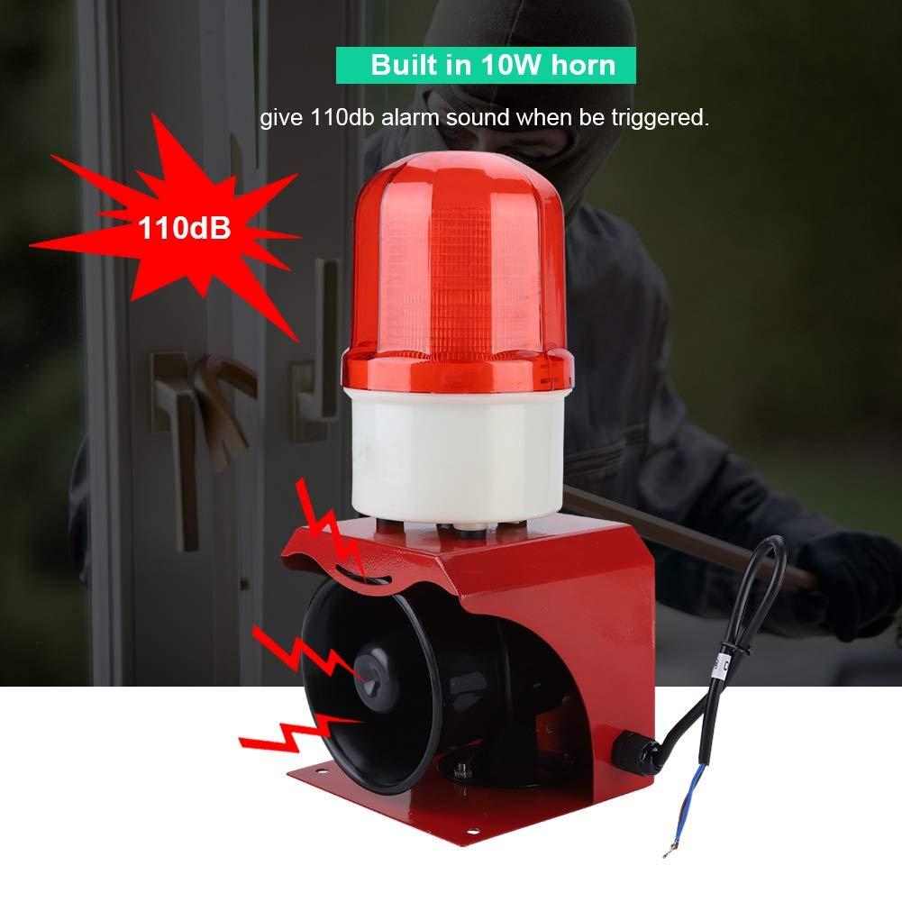 Alarma de sirena de bombero, 12 - 24 V, alarma de ...