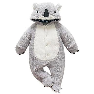 Sisit Costume d ours de Koala pour Bébés Super Mignon et épais pour Garder  Votre b575ced17c6
