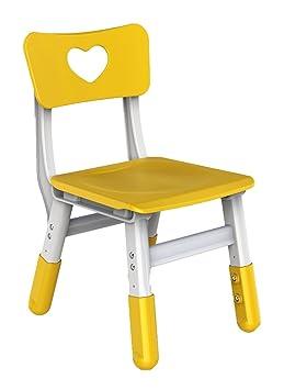 Bieco 04000036 Chaise Haute Pour Enfant Jaune Hauteur Rglable Env 35 X