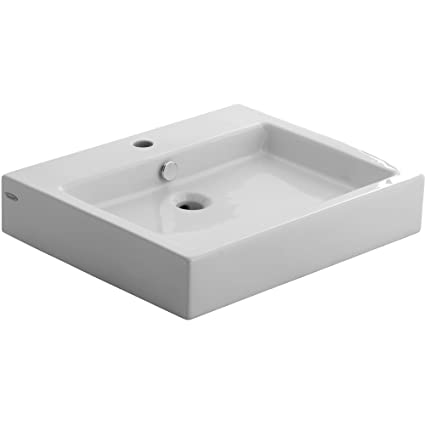 American Standard 0621.001.020 Studio Above Counter Rectangular Vessel Sink,  White
