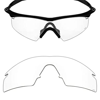 Mryok+ Polarized Replacement Lenses for Oakley M Frame Strike - HD Clear d9cfbc0a755b
