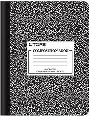 Caderno Oxford, pauta universitária, 24 cm x 19 cm, capa Black Marble, 100 folhas, 1 caderno (63796)
