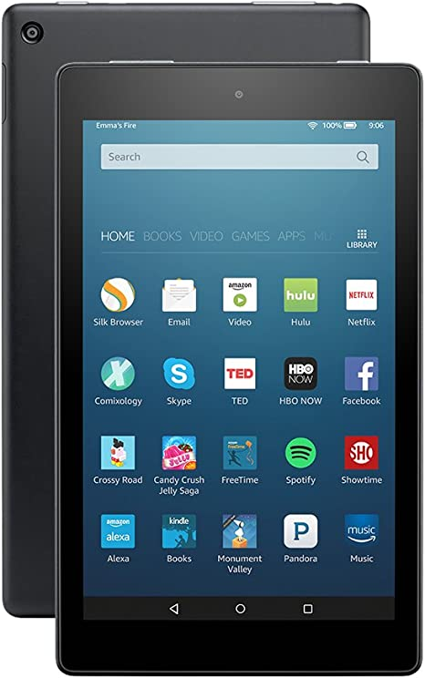 Fire HD 8 (previous generation - 6th) - Amazon Official Site ...