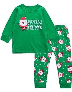 1a937b82c52e Amazon.com  Carter s Little Boys  2 Piece Santa Helper Striped ...