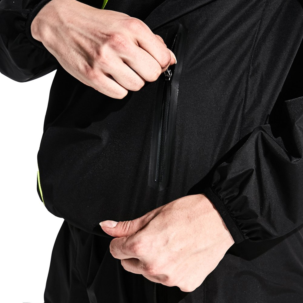 HOTSUIT Sauna Suit Weight Loss for Women Slim Fitness Clothes (Black,XX-Large) by HOTSUIT (Image #9)