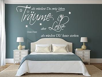 Wandtattoo für Ihr Schlafzimmer, 68057-130x58 cm, ~ Schriftzug ...
