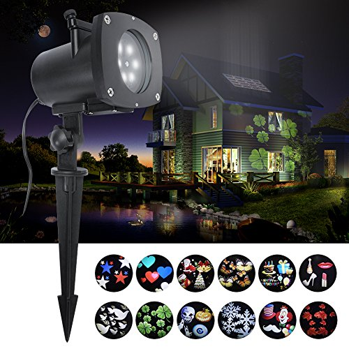 20 Best Christmas Light Projectors Reviews April 2018