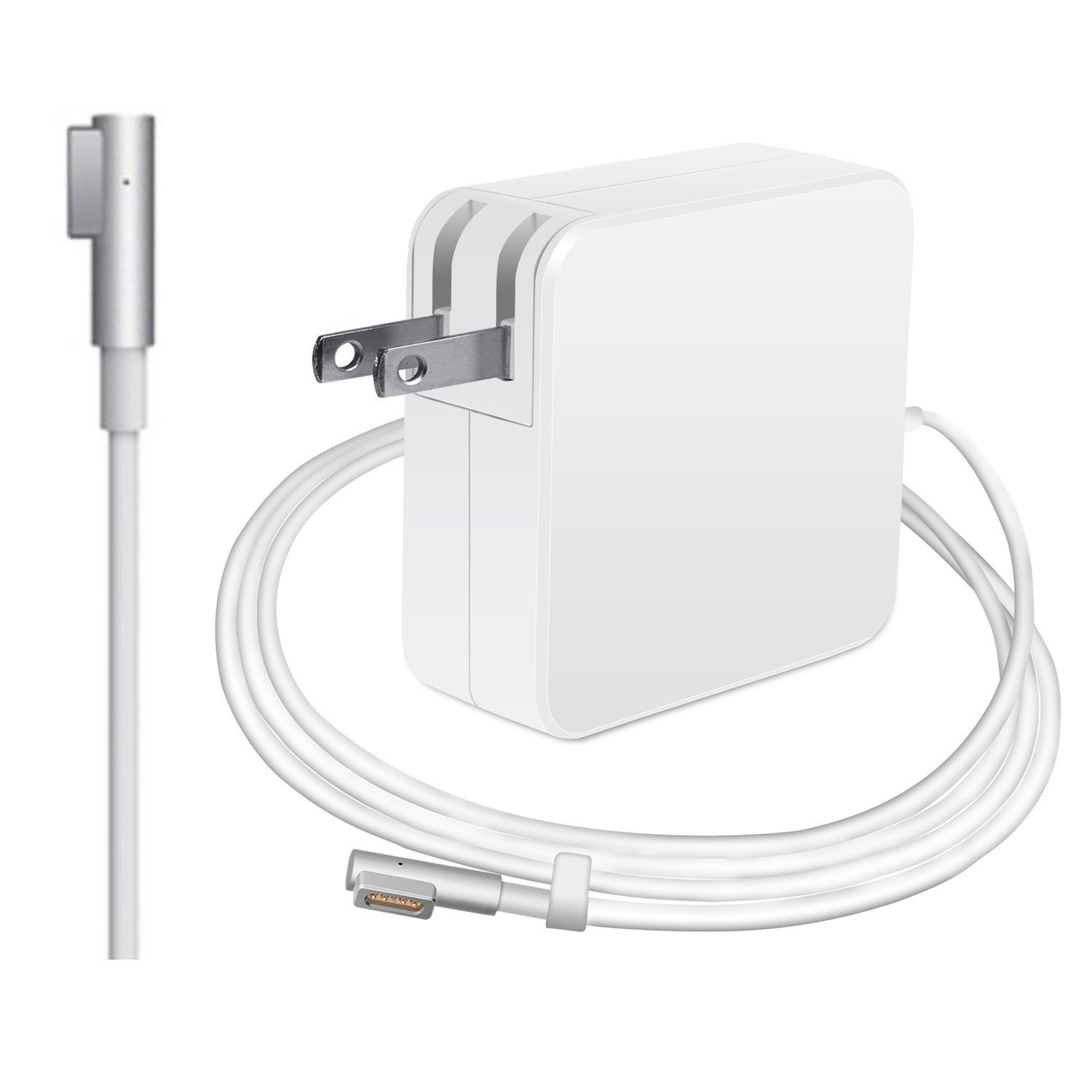 MacBook Pro Charger, Oakwill Replacement 60W Magsafe (L) Shape Connector Ac Power Cable Adapter Mac Laptop Power Supply for MacBook and 13-inch MacBook Pro (Before Mid 2012 Models)