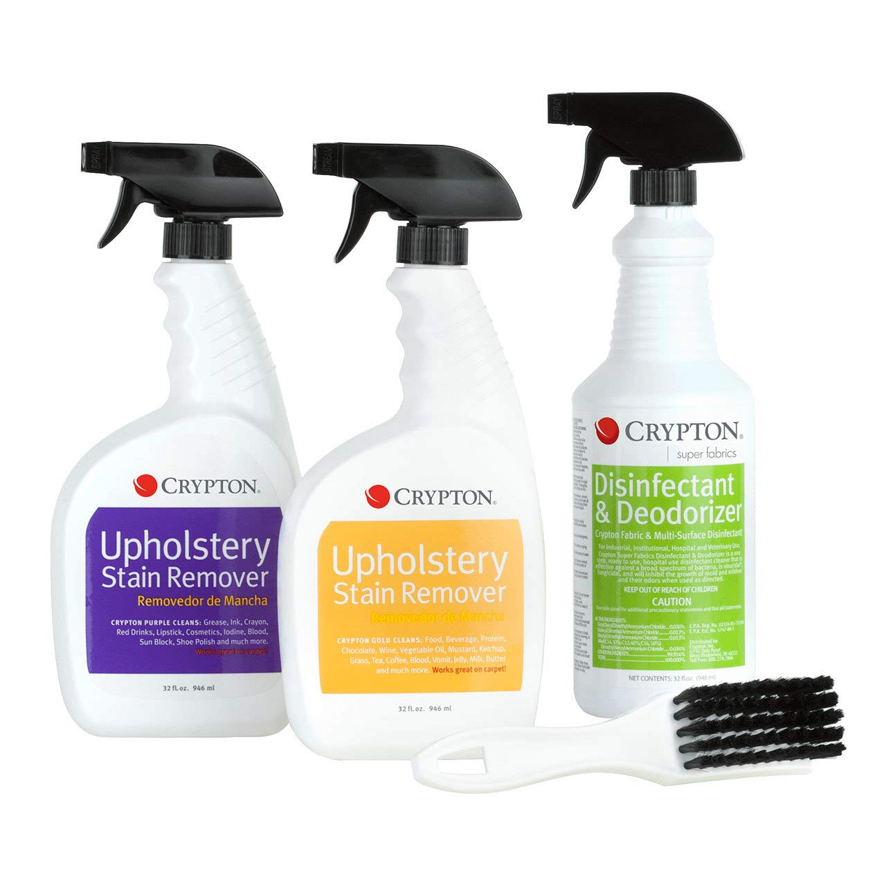 Crypton Upholstery Stain Remover Sampler Case (32 fl. oz.) by Crypton (Image #1)