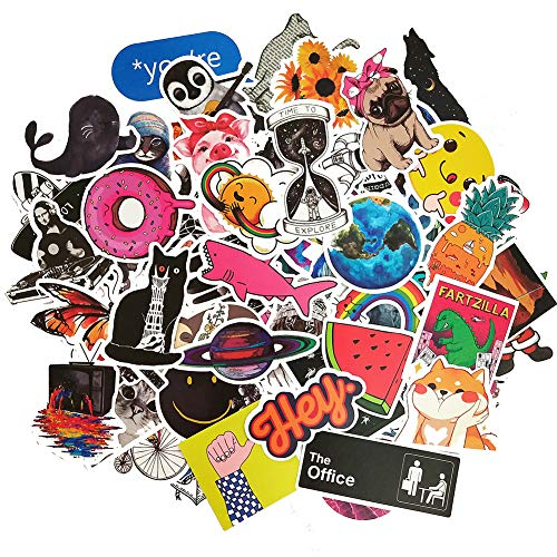 Cute Trendy Stickers for Teens Girls, Perfect for Water Bottles, Skateboard, Laptops, Phone, Luggage - http://coolthings.us