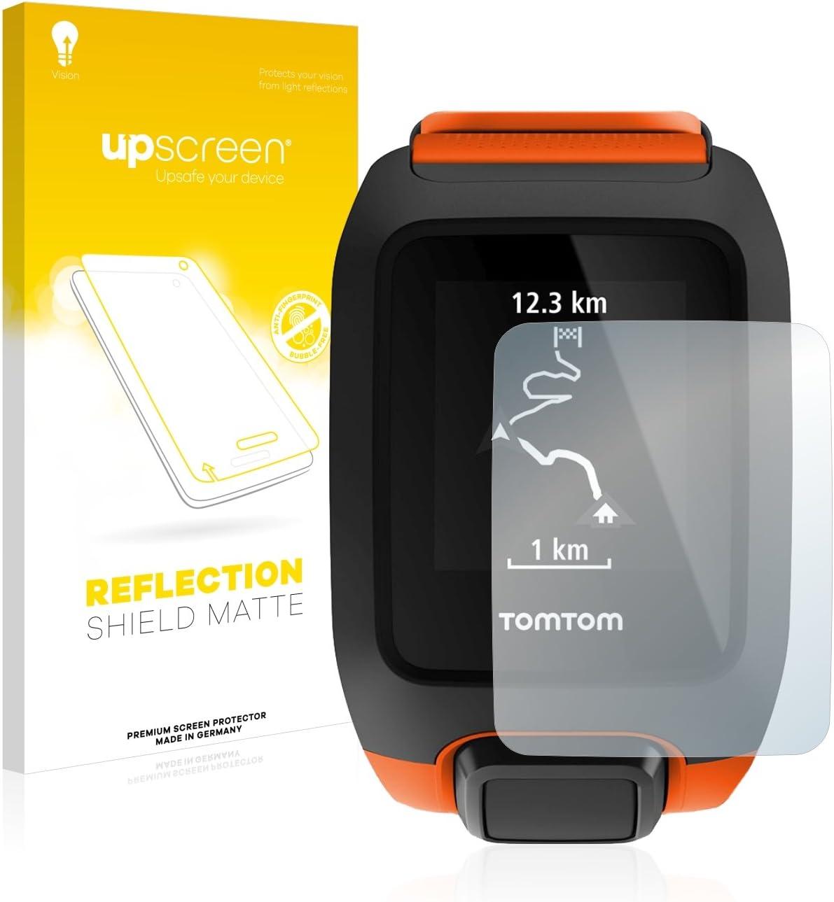 upscreen Entspiegelungs-Schutzfolie kompatibel mit Tomtom Adventurer Anti-Reflex Displayschutz-Folie Matt