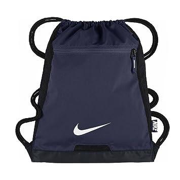 Nike Alpha Adapt Gymsack Mochila, Hombre, Azul (Midnight Navy/Black/White), Talla Única: Amazon.es: Deportes y aire libre