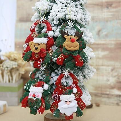 JUNMAONO Christmas Decoración, Decoración del árbol De Navidad, Adornos Colgantes, Navidad Decoraciones,