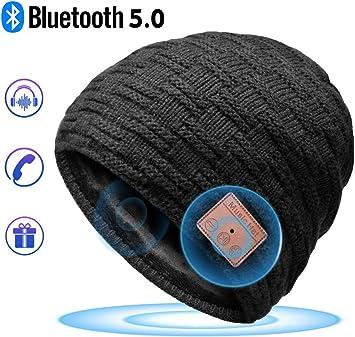 HANPURE Bluetooth Gorro Invierno Hombre Regalos Originales - Gorro ...