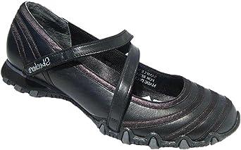 Skechers Women's Velcro Shoes Black UK