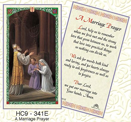 - Marriage Prayers Paper Prayer Cards - Pack of 100 - HC9-341E-L