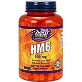 [海外直送品] ナウフーズ  HMB 500 mg 120 Veggie Caps