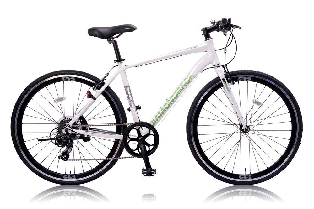 DIAMOND BACK(ダイアモンドバック) 700Cクロスバイク シマノ8段変速 アルミフレーム DB-708AL WHITE(2015) B00WYQ4XIS