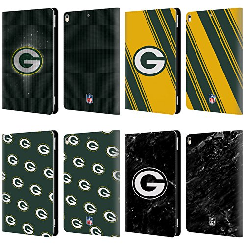 Official NFL 2017/18 Green Bay Packers Leather Book Wallet Case Cover For Apple iPad Pro 10.5 (2017)