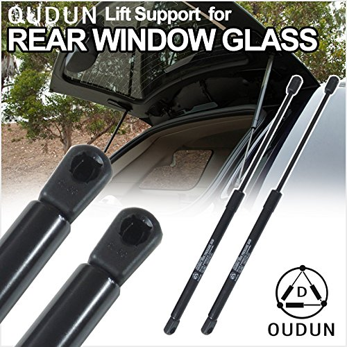 Riseking Pair Rear Window Glass fit 1983-1994 Chevrolet S10 Blazer & 1983-1994 GMC Jimmy & 1983-1994 GMC S15 Jimmy & 1991-1994 Oldsmobile Bravada 2pcs Gas Lift Supports Shock Strutss