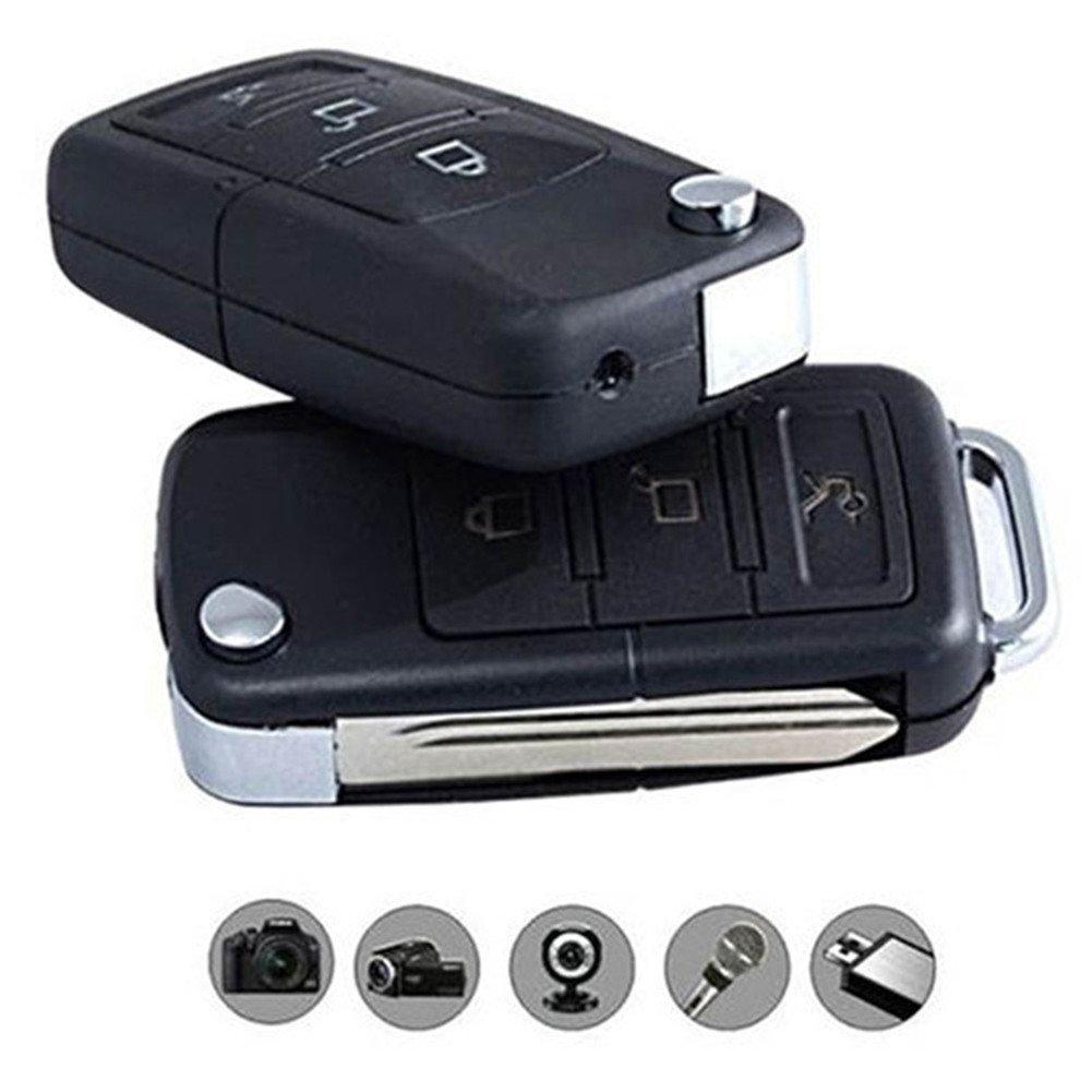 favourall Llave de Coche Cámara Oculta DVR Mini Cámara de de Llaves de Auto, 3in1 HD de Llavero & de vigilancia: Amazon.es: Bricolaje y herramientas