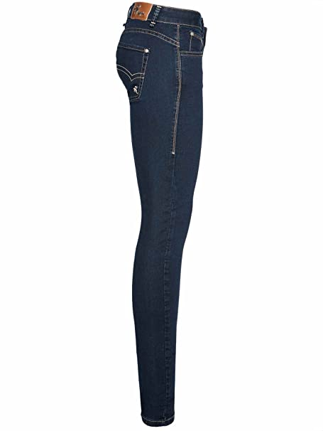 MOGUL Damen Jeans Heidi Slim Magic Stretch Artikel-Nr.00016797-4739:  Amazon.de: Bekleidung