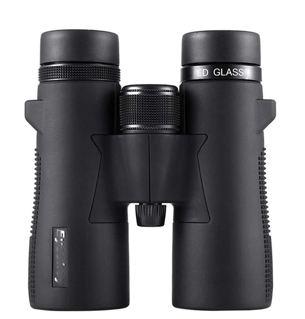 WQ 双眼鏡コンパクト、10X42プロの鳥を大人と子供、広視野HD光学、バードウォッチングハントのための防水HD B07RXX5N5J M39-10X42ED black