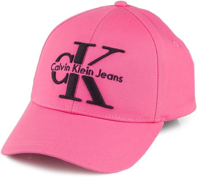 Calvin Klein Gorra de béisbol de algodón Re-Issue Rosa Intenso ...