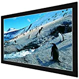 Yescom 92'' Diagonal HD 16:9 Fixed Frame Projector Screen 80''x45'' Viewing Area 1.3 Gain Home Office