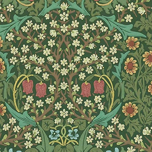 ウィリアムモリス壁紙 ブラックトーンW ウォールペーパー クロス イギリス製 wm8610-1