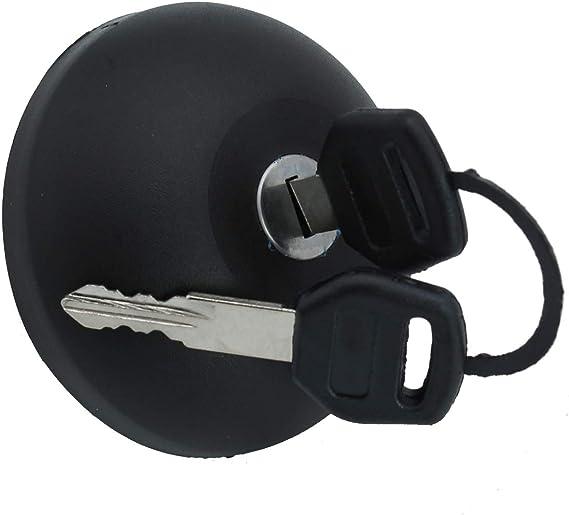 Takpart Tankdeckel Kraftstoffbehälter Tankverschluss Mit 2 Schlüssel 7701471585 7701470950 Auto