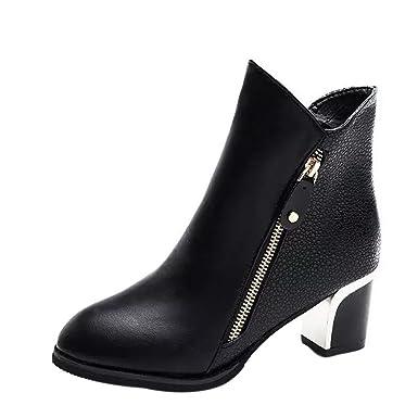 20e000609701bb chaussures femme Manadlian Bottes Cuir Ankle Boots Meilleure Vente Ankle  Boots Femme Hiver Soldes Automne Chaussures