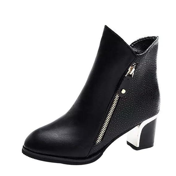 les ventes chaudes 38e54 9c5a4 chaussures femme Manadlian Bottes Cuir Ankle Boots Meilleure Vente Ankle  Boots Femme Hiver Soldes Automne Chaussures Bottes 5CM Sexy Boots Bottines  à ...