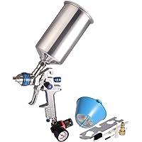 $44 » Dynastus 1 Quart HVLP Air Spray Gun Auto Car Detail Paint Sprayer, 2.5mm Nozzle, with Filter…
