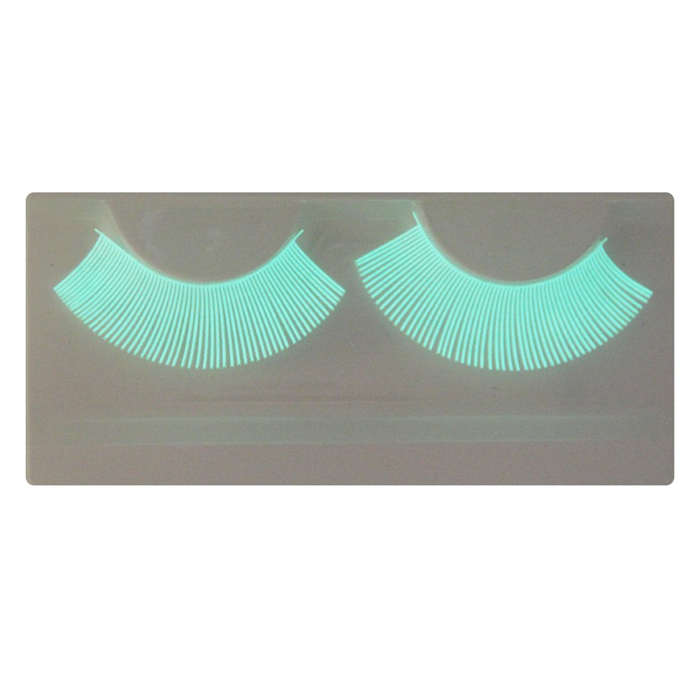 LL09 EMILYSTORES Natural Looking Luminous Fluorescence Costume Halloween Gloss In Darkness Party Lashes 1 Paris XIAMEN ZHAOTAI INDUSTRIAL CORP