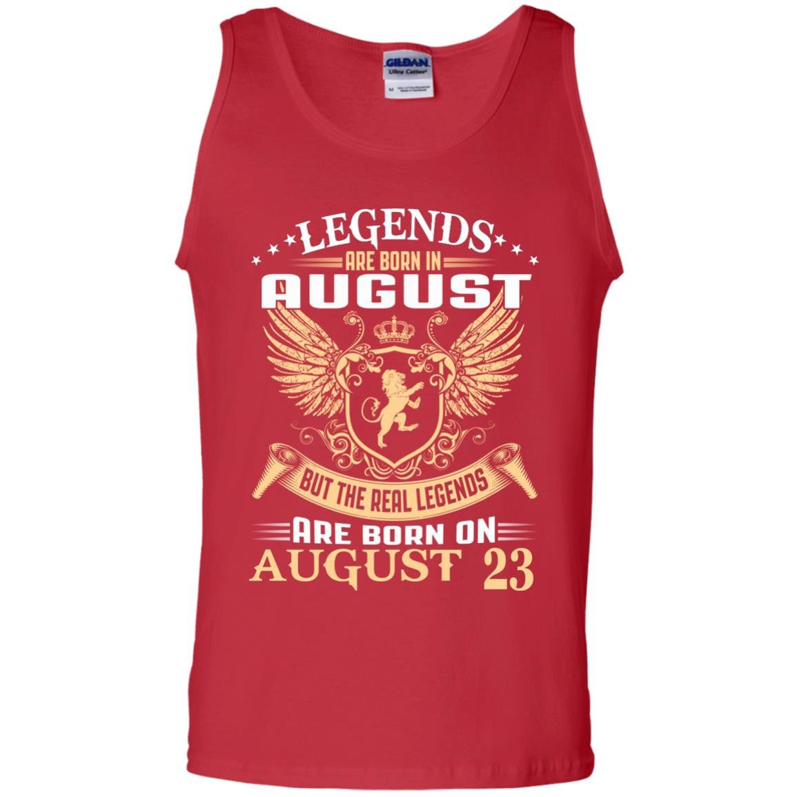 1007 The real kings legends are born on august 23 Tank top