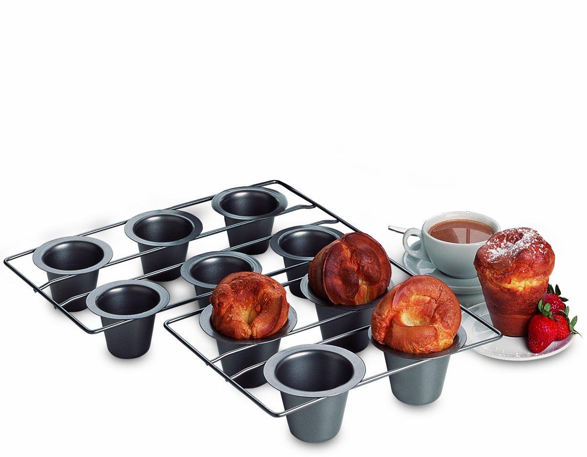 Antiadherente 12- Copa Mini Popover Pan