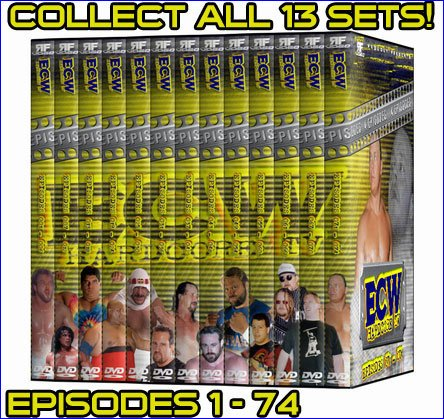 ECW Hardcore TV Complete Set Volume 1 DVD Set by