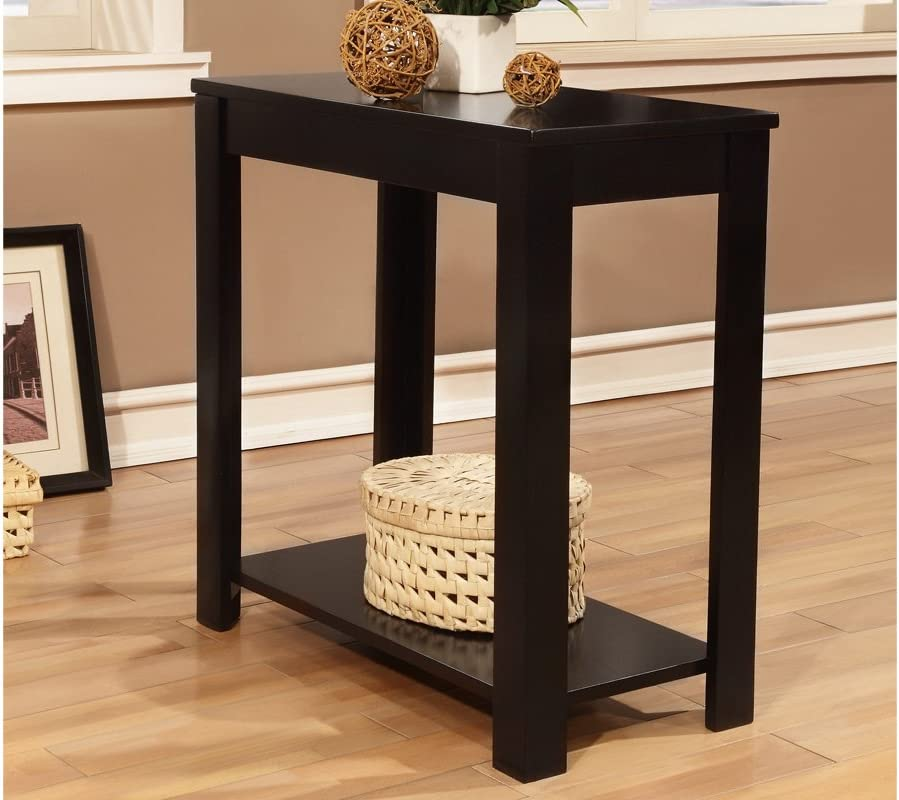 "Amazon.com: Chair Side Table, Black 24"" x 12"" x 24"" H: Kitchen"