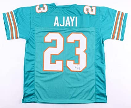 38515540260 Jay Ajayi Autographed Signed Miami Dolphins Jersey Memorabilia - JSA  Authentic