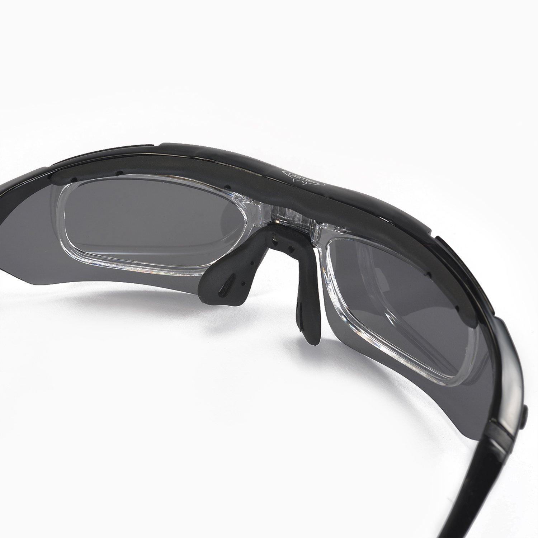 Amazon.com : Walleva Polarized Sports Sunglasses With TR90 Frame ...