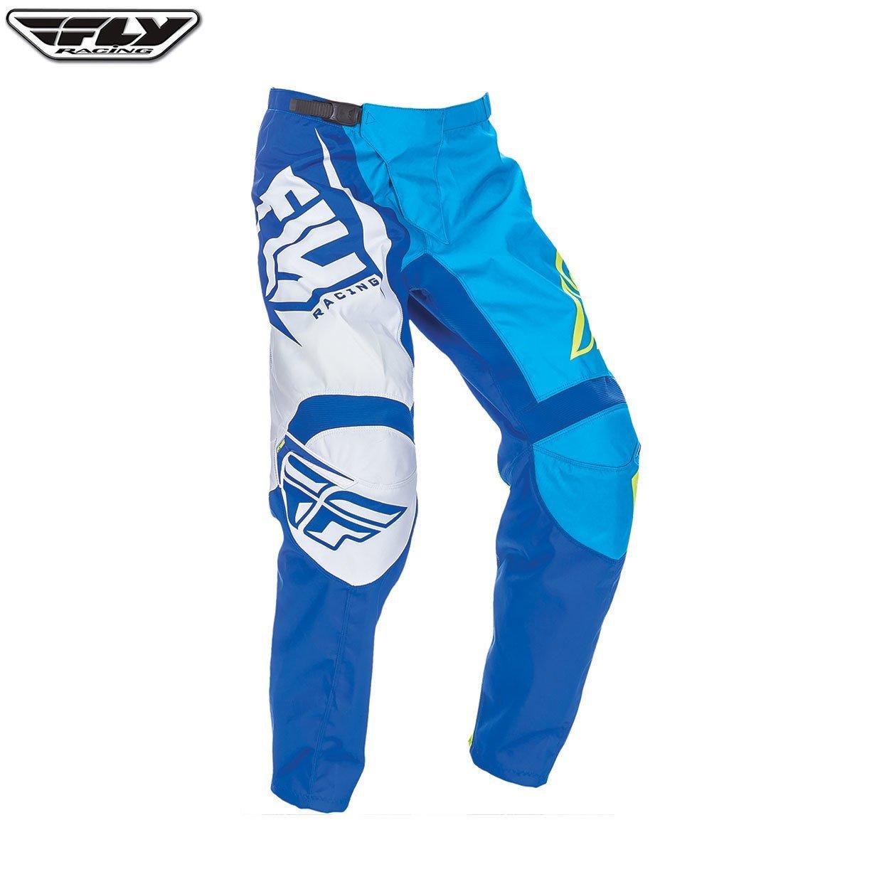 Fly Racing 2017/F-16/adulto MX Motocross MTB Downhill Pantalones de ch/ándal azul//Hi-Viz
