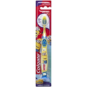 Colgate Kids Minions Toothbrush, 1 Count