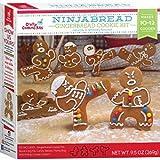 Ninjabread Gingerbread Cookie Kit 9.5 oz - 10-12 Cookies
