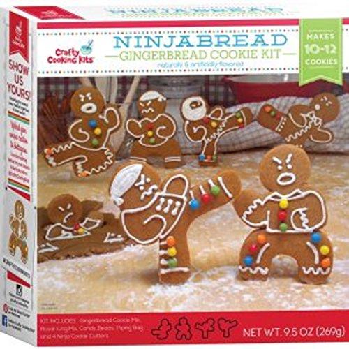 Ninjabread Gingerbread Cookie Kit 9.5 oz - 10-12 - Gingerbread Kit Cookie