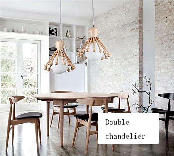 Semplice legno camera da letto soggiorno sala da pranzo moderni ...