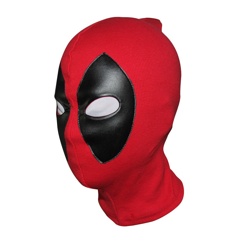 2016 Deadpool Mask Leather Balaclava X-Men Halloween Costume Hood Cosplay by Skroutz